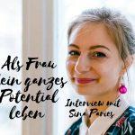 Claudia Engel, Glück in Worten, als Frau dein ganzes Potential leben, Interview mit Sina Paris