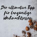 Claudia Engel, Glück in Worten, der ultimative Tipp für langweilige Weihnachtsessen